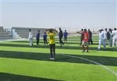زمینهای فوتبال اهدایی بنیاد مستضعفان در سیستان و بلوچستان افتتاح شد