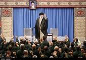 امام خامنهای: کاهش تعهدات هسته ای را با جدیت ادامه خواهیم داد/ آمریکاییها برای دیدار با رئیسجمهور ایران به التماس افتادند