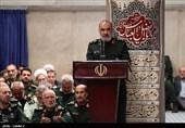 سردار سلامی در دیدار پاسداران با فرمانده کل قوا: هر جنگ جدیدی به محو رژیم صهیونیستی از جغرافیای سیاسی عالم میانجامد