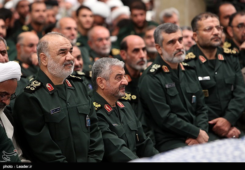 IRGC Commanders Donate Part of Salaries to Coronavirus Relief