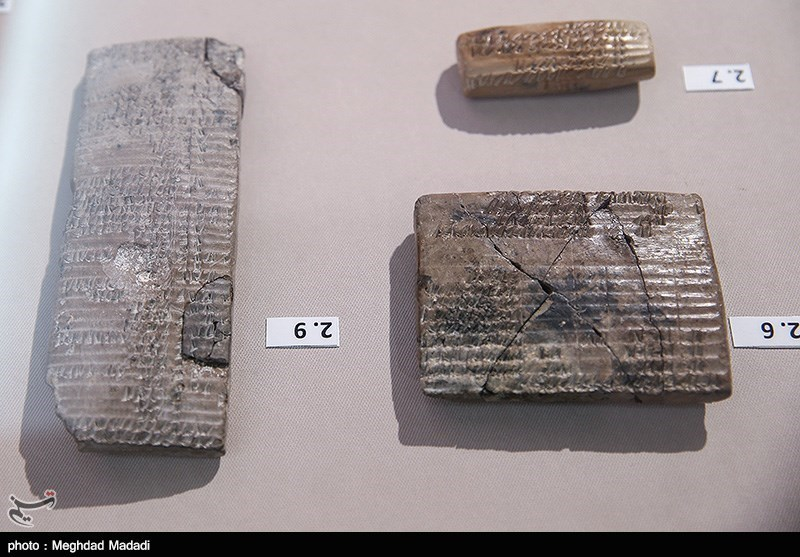 Achaemenid-Era Clay Tablets Unveiled in Iran's National Museum