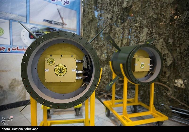 بخش هایی از سامانه هدایت و کنترل موشک نقطه زن لبیک 1 نزاجا