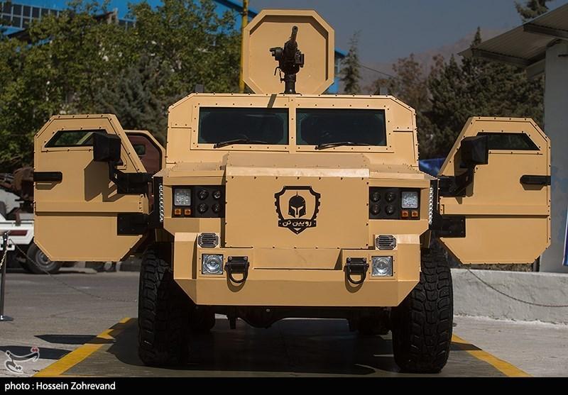 خودرو نظامی رویین تن نیروی زمینی ارتش