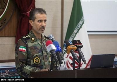 سخنرانی سرهنگ خزایی رئیس سازمان تحقیقات و جهاد خودکفایی نیروی زمینی ارتش