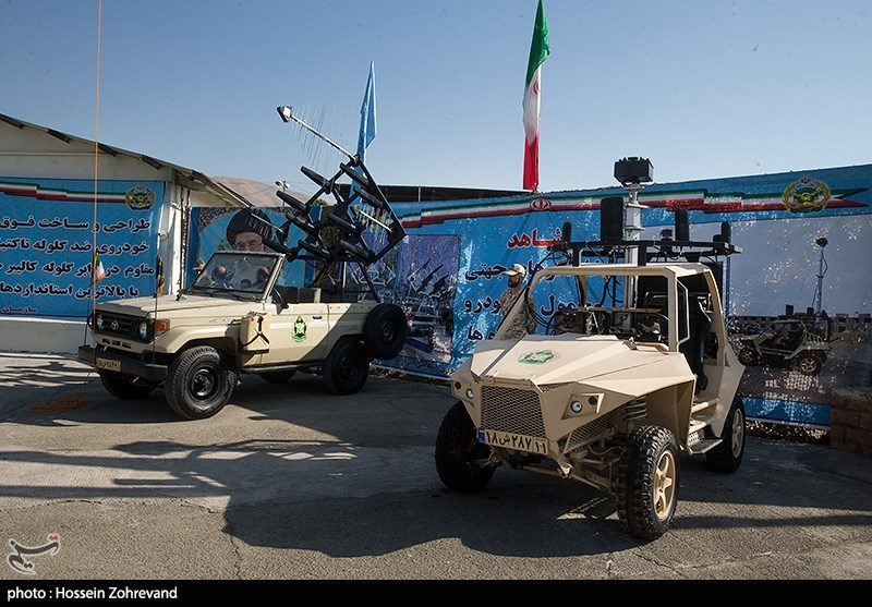 Iran's Army Unveils New Military Gear