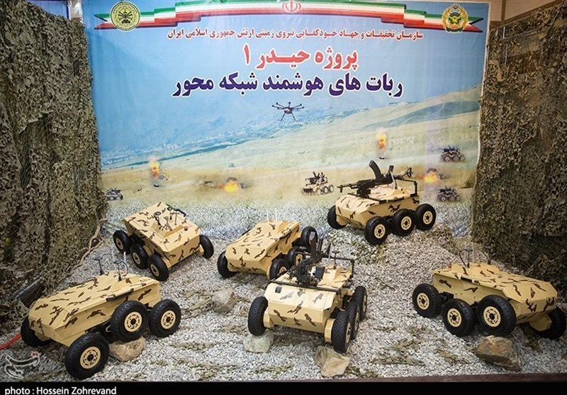 Iran's Army Unveils Smart Robot Vehicle Able to Destroy Enemy Tank (+Video)