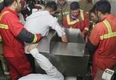 تهران| لهشدن انگشتان پسر جوان در هستهگیرآلبالو + تصاویر