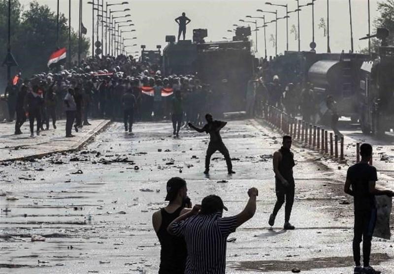 عراق|هشدار درباره طرح آمریکا برای برهم زدن امنیت بغداد/ تکذیب واردات گاز اشک آور از ترکیه