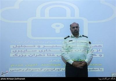 سردار حمید هداوند جانشین فرماندهی انتظامی تهران بزرگ