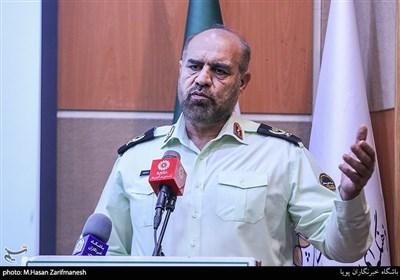 سخنرانی سردار حمید هداوند جانشین فرماندهی انتظامی تهران بزرگ