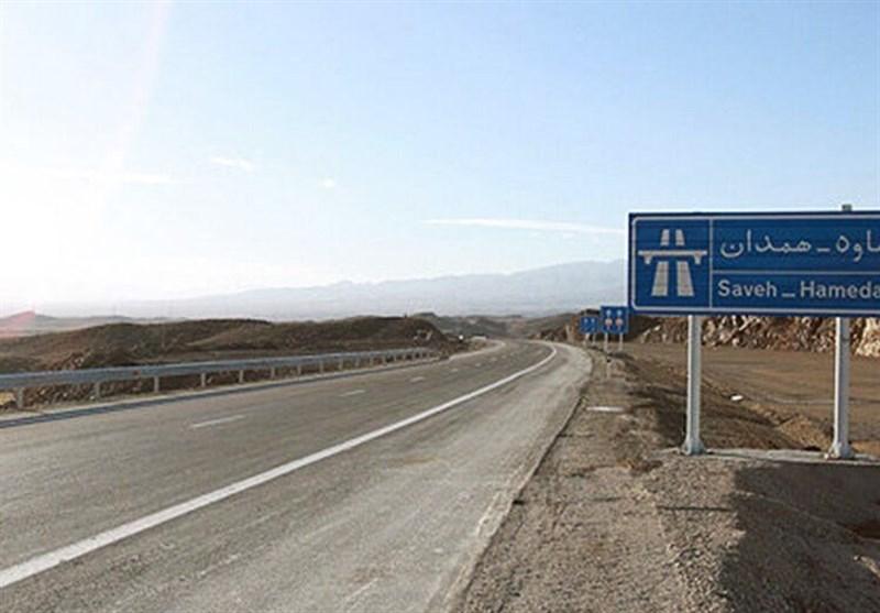 جای خالی موکبهای اربعین در شلوغترین محور عبوری همدان/ عبور سرد زائران از آزادراه همدان ـ تهران