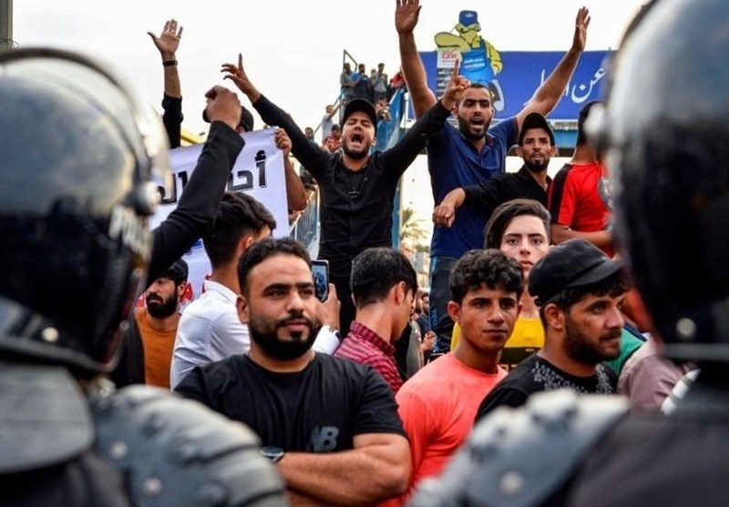 Iraq's Capital Isolated from Neighboring Provinces amid Protests