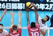 جام جهانی والیبال| نخستین پیروزی ایران در جام جهانی با بازیکنان ذخیره