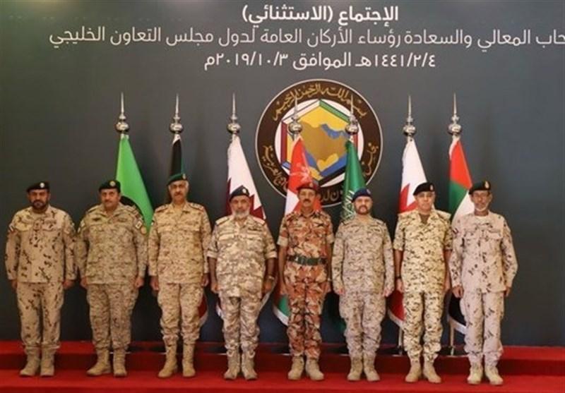 نشست فوقالعاده مقامهای ارشد نظامی کشورهای عضو شورای همکاری در ریاض