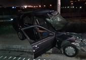 تصادف خونین 4 خودرو در غرب تهران + تصاویر