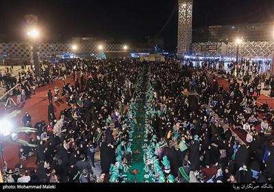 سفره ی حضرت رقیه (س) در تهران