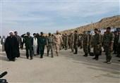 135 گردان بیتالمقدس در استان فارس رزمایش اقتدار برگزار کردند
