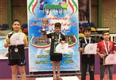 قهرمانی بنیامین فرجی در مسابقات تنیس روی میز تور ایرانی هوپس