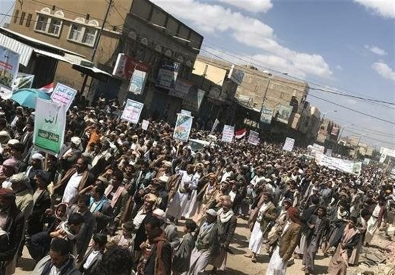 Yemenis Rally in Support of Recent Operation against Saudi