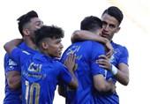 لیگ برتر فوتبال| جشن اولین پیروزی استقلال در لیگ بدون هواداران