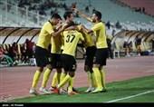 لیگ برتر فوتبال| سپاهان با پیروزی به رختکن رفت
