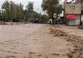 سیل کوهدشت بازار کاسبان را بیرونق کرد؛ دخل خالی خسارتدیدگان+تصاویر
