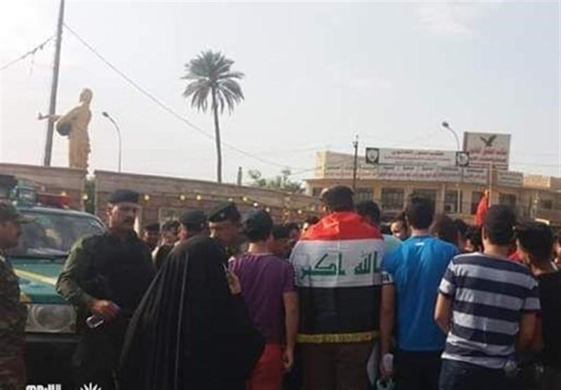 تظاهرات عراق در اعتراض به فساد است