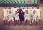 پیروزی تیم فوتبال ساحلی ایران مقابل عمان در دیدار دوستانه