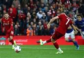 لیگ برتر انگلیس  لیورپول در آخرین دقیقه بازی پیروز شد