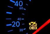 اخبار فنی خودرو| 10 دلیل روشن شدن «چراغ چک» خودرو