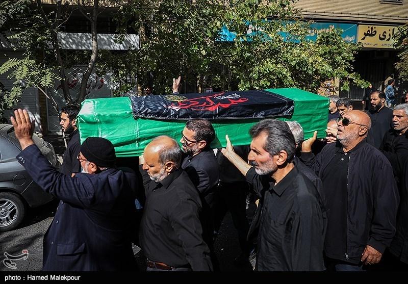 پیکر امام جمعه موقت فقید سنندج تشییع شد