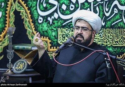 سخنرانی حجت الاسلام شیخ علی سعیدیان