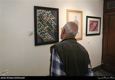 آیین گشایش نمایشگاه تجلی خط هرات در تهران آثارخوشنویسان هرات افغانستان