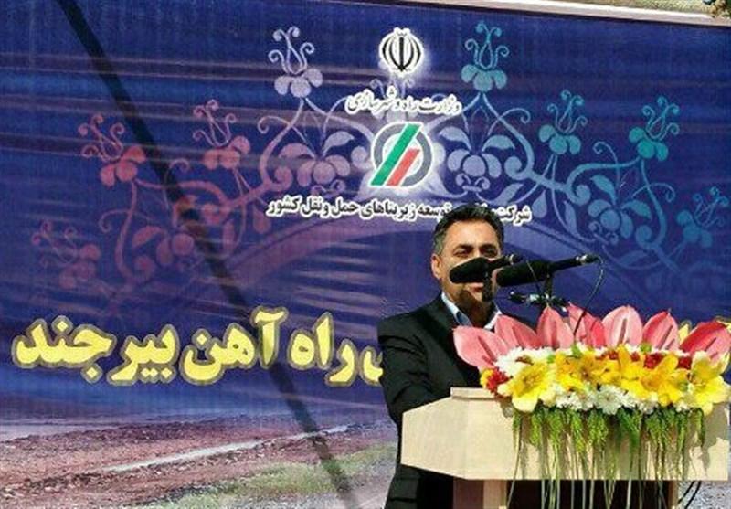 راه آهن شرق سبب توسعه اقتصادی خراسان جنوبی میشود