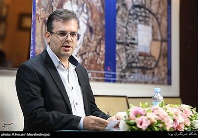 سخنرانی محسنی مدیر عامل موسسه سنجش از دور بصیر در رونمایی از دستاوردهای محصولات هوایی
