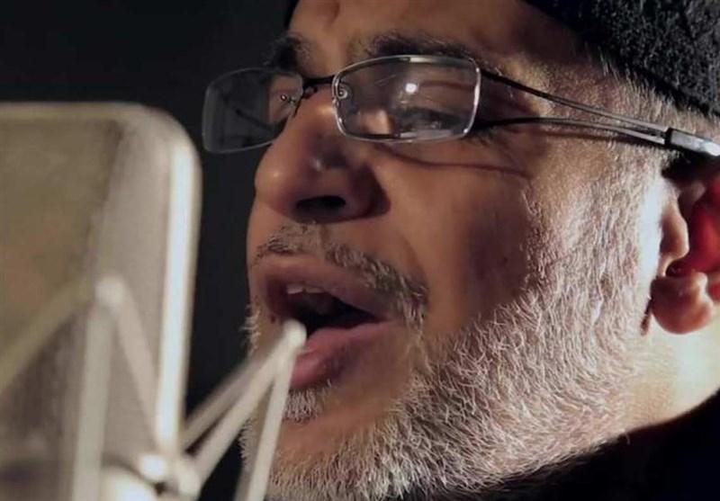 """""""نزار قطری"""" برای اربعین خواند + فیلم"""