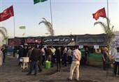 موکب «قافله عاشقی» برای پذیرایی از زائران حسینی در رودبار گیلان برپا شد