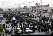 اخبار اربعین 98| افزایش بیسابقه تردد زائران در کرمانشاه / محدودیت تردد کامیون آغاز شد