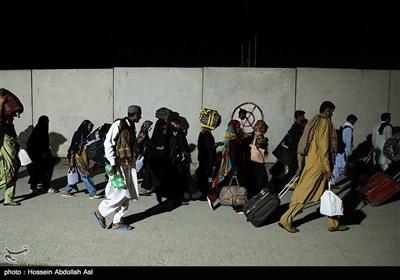 عبور شبانه زائرین اربعین از مرز شلمچه