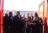 استانداردترین خط تولید کانتینر دریایی ایران با حضور وزیر راه به بهرهبرداری رسید
