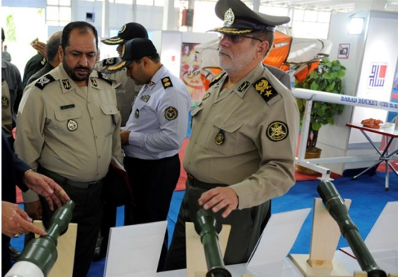 بازدید جانشنین فرمانده ارتش از نمایشگاه دستاوردهای ساصد