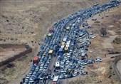 زعفران عامل ترافیک در ورودی و خروجی مشهد شد