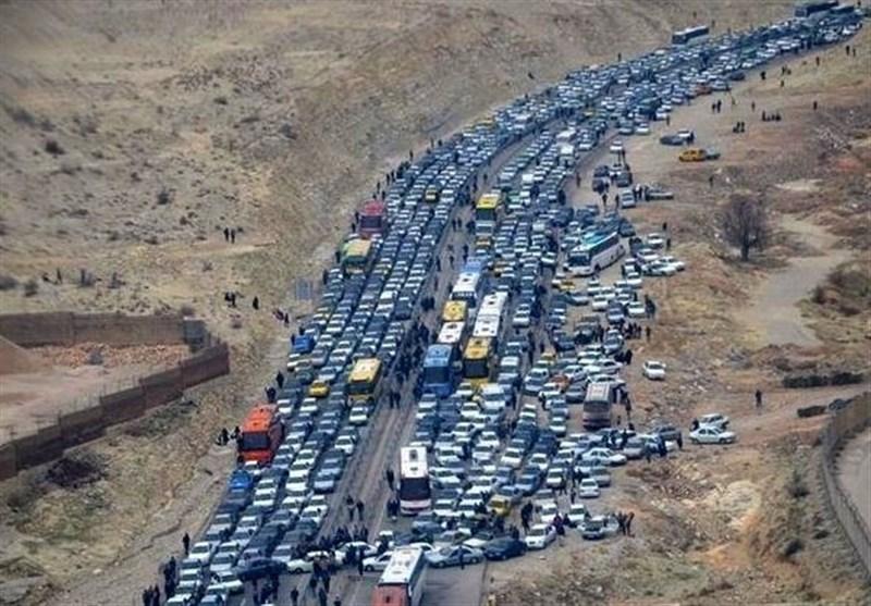 اخبار اربعین 98| ترافیک 10 کیلومتری در مسیر ایلام ـ مهران