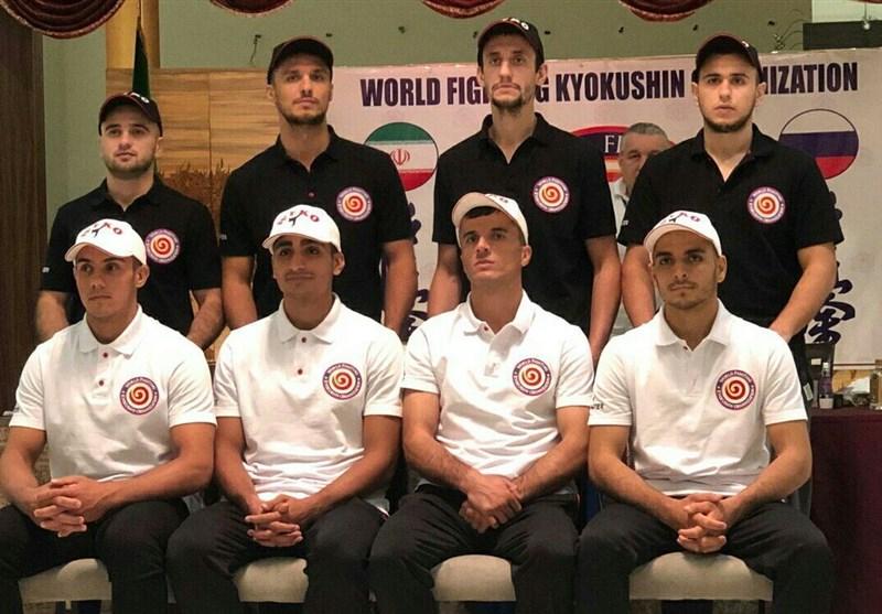 رقابتهای حرفهای سوپرفایت کیوکوشین| پیروزی دو ورزشکار ایرانی برابر حریفان روس