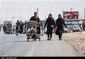 اخبار اربعین 98 | ترافیک در محورهای مواصلاتی استان ایلام تحت کنترل پلیس راه قرار دارد