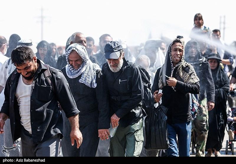 تازهترین اخبار اربعین 98|ثبت رکورد سنگینترین روز عملیات اربعین / تراکم جمعیت در مرزهای شلمچه، چذابه و مهران + فیلم