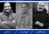 اعضای هیات انتخاب مسابقه نمایشهای صحنهای جشنواره تئاتر فجر با حضور پیام دهکردی