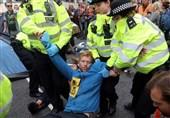 بازداشت بیش از 300 فعال مدنی در انگلیس