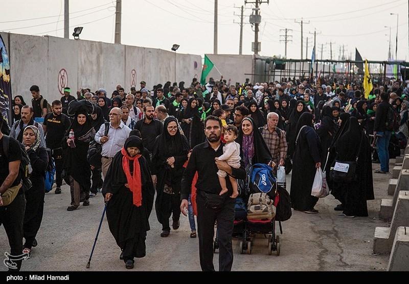 آخرین وضعیت مرزهای خوزستان| ازدحام زائران در مرز شلمچه / تردد متوقف شد