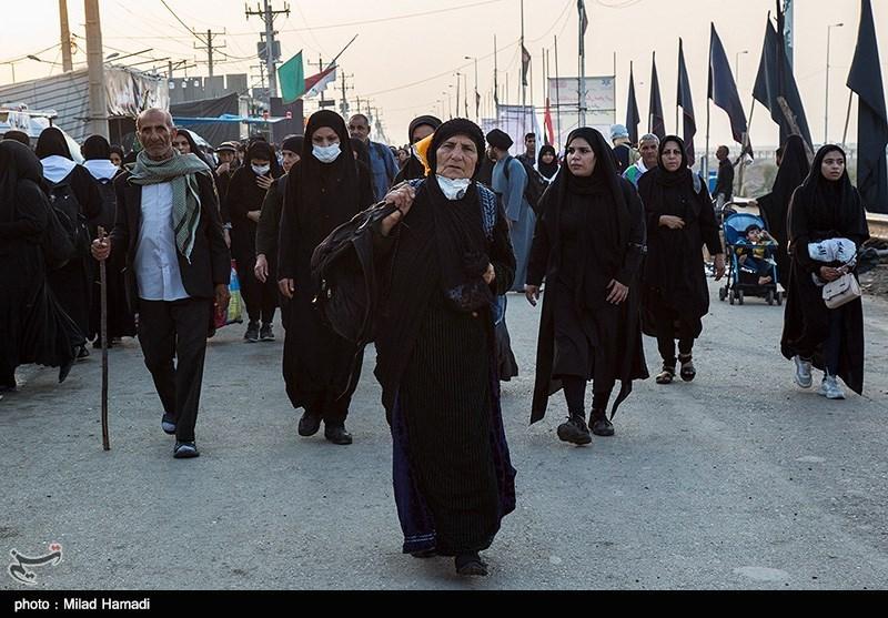 آخرین وضعیت مرزهای خوزستان  افزایش تردد زائران از شلمچه و چذابه / برقراری بهترین نظم و امنیت در مرز